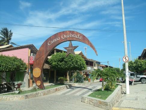 Broadway em Canoa Quebrada
