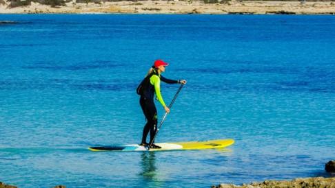 Stand Up Paddle na Lagoa Azul