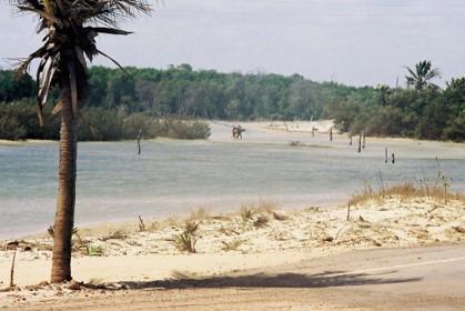 Praia de Macapá - litoral do piauí