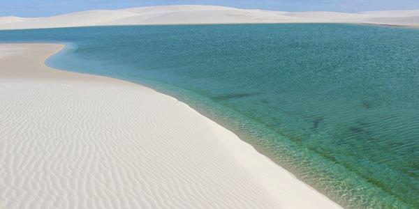 principais pontos turísticos no Maranhão - Lençóis Maranhenses