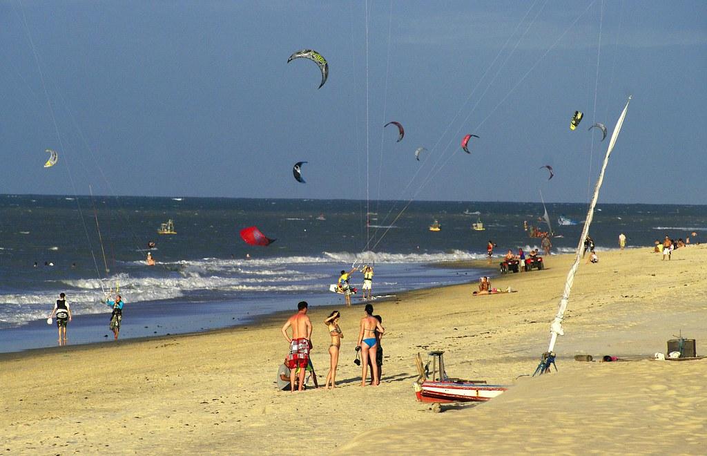 kitesurf em Cumbuco
