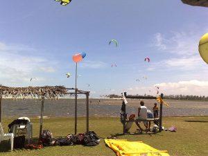 permitido praticar kitesurf em Fortaleza