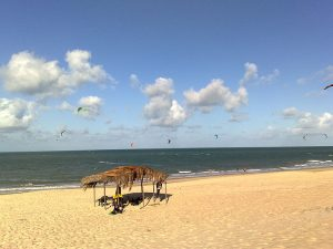 Praia de Cumbuco kitesurfe