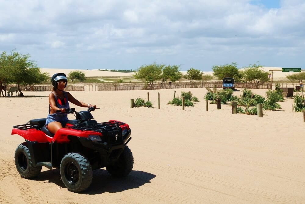 Quad Bike Tour through the Piauiense Sheets (To the Coqueiro Dunes) (Private)